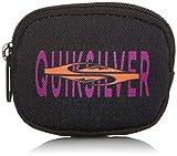 Quiksilver Accesorio de Viaje: cinturón Dinero, One Size, Black