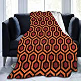 ANJAY Throw Blanket - for Bed Couch Plush Suitable for Fall Winter and Summer (50x60 Inches) Overlook Hotel Carpet The Shining