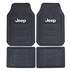 Universal fit for most vehicles Easy to clean with soap and water Made of durable, long lasting, flexible material Sold as 1 left and right front mat and 2 rear mats