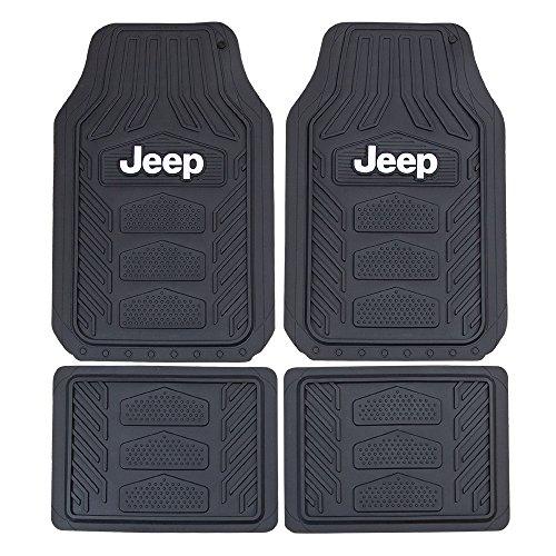 Plasticolor Jeep Weatherpro 4 Pc. Floor Mat Set