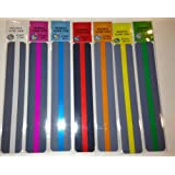 Guided Reading Strips Asst. Set of 7 (Colored Overlays) by Crystal Children and Teacher Supply