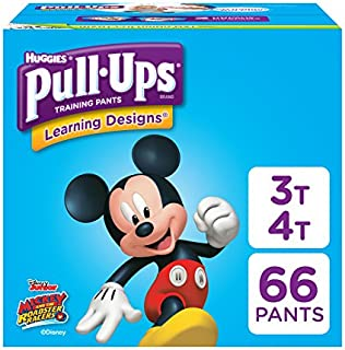 Pull-Ups Learning Designs Potty Training Pants for Boys , Blue , 3T-4T