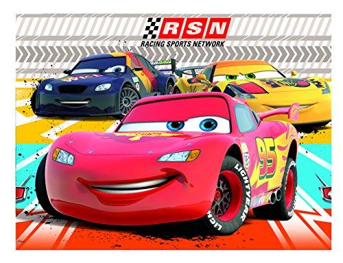 Tafelkleed Cars RSN voor kinderverjaardag of themafeest van Disney