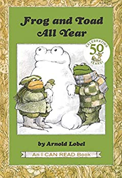 Paperback Frog and Toad All Year (I Can Read Level 2) Book