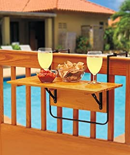 Folding Deck Table - Natural