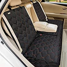 BABYLTRL Dog Car Seat Cover Waterproof Pet Bench Seat Cover Nonslip and Heavy Duty Pet Car Seat Cover for Dogs and Armrest Fits Cars, Trucks and SUVs (56
