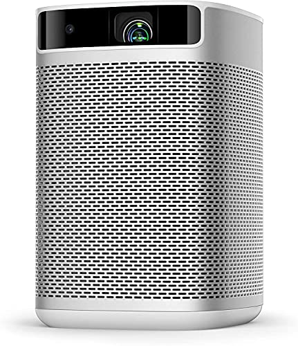 XGIMI MoGo Pro Portable Projector for Outdoor Movies Night, FHD 1080P Mini Projector, Smart Projector with Automatic Keystone Correction, Android TV 9.0, 5000+ Apps, WiFi Bluetooth, Home Entertainment