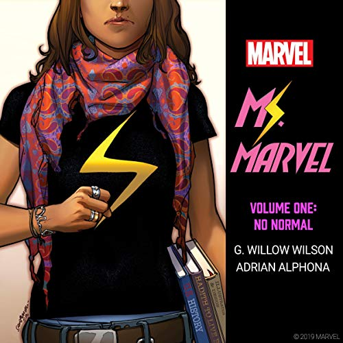 Ms. Marvel, Vol. 1: No Normal Titelbild