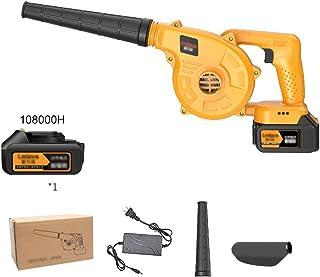 ZWYJXL Electric Leaf Blower - 3 in 1 Garden Blower and Vacuum - Vacuum & Shredder خفيفة الوزن، Stepless Speed Change, بلاس...