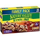 Nature Valley Granola Bars, Fruit and Nut, Chewy Trail Mix Granola Bars, 15 Bars