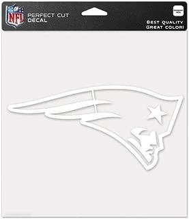 WinCraft NFL 8x8 White Die Cut Decals