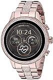 Michael Kors Women's Access Runway Stainless Steel Plated touchscreen Watch Strap, GoldTone, 15 (Model: MKT5052)