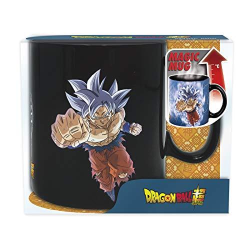 Abysse Deutschland GmbH Taza Dragon Ball Super Goku (efecto térmico) 460 ml, multicolor, Z105515
