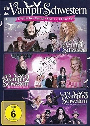 Die Vampirschwestern 1-3 / Alle 3 Filme / Teil 1+2+3 [3 DVDs]
