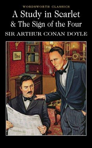 Amazon Com A Study In Scarlet The Sign Of The Four Wordsworth Classics Ebook Doyle Arthur Conan Davies David Stuart Kindle Store