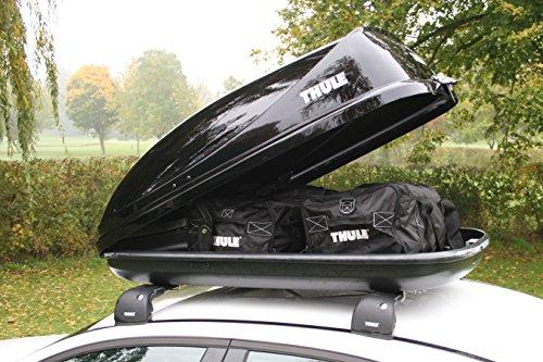 THULE Coffre de Toit - Ocean 80-320 litres - Noir