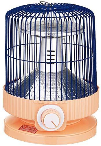 NFJ Elektroheizer Heizlüfter Heizgerät,Vogelkäfig Heizung Backofen Kleine Solar Heizung Desktop Energiesparende Geschwindigkeit Vogelkäfig Heizung Neujahr Geschenk