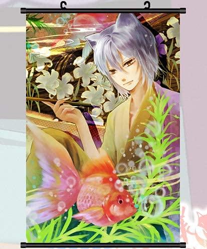 DDMMLKP Dipinto di Rotolo Anime Kamisama Hajimemashita Tomoe Bacio Pittura su Stoffa Anime Home Decor Poster a Rotolo per Decorativi 19.6x29.5 Pollici