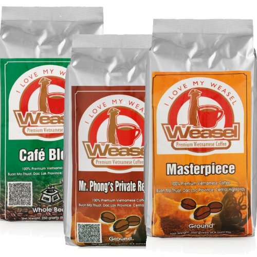 Weasel Coffee Selection, Ground