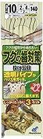 ハヤブサ(Hayabusa) 投げ釣り+α フグの歯対策 投げ五目 10-2 NT531-10-2