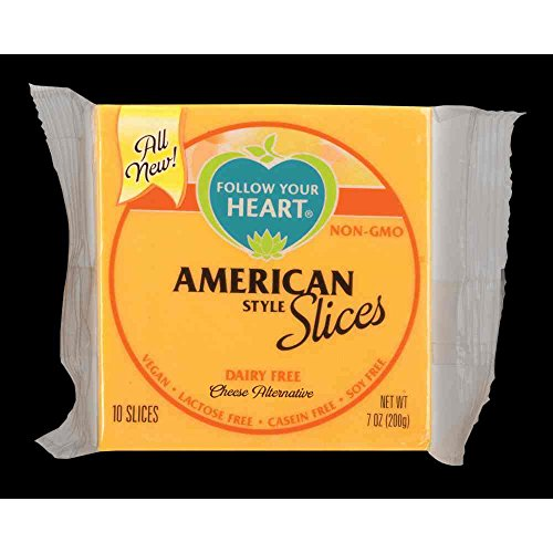 Follow Your Heart American Style Slices Cheese Alternative, 7 Ounce -- 12 per case.