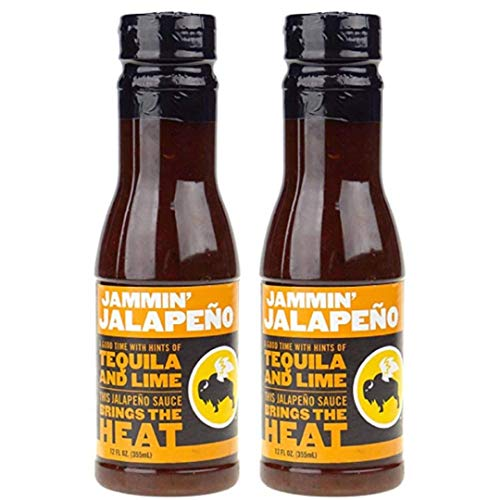 Buffalo Wild Wings Barbecue Sauces, Spices, Seasonings and Rubs For: Meat, Ribs, Rib, Chicken, Pork, Steak, Wings, Turkey, Barbecue, Smoker, Crock-Pot, Oven (Jammin Jalapeno, (2) Pack)