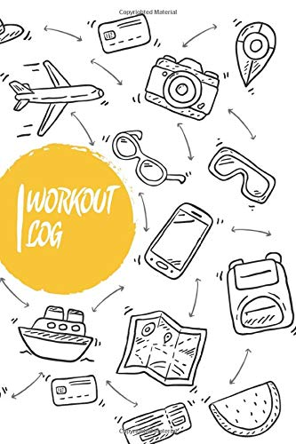 Workout log book & Fitness Journal: Gym workout log with daily and weekly pages Easily Tracks All Your Training with 120 pages |