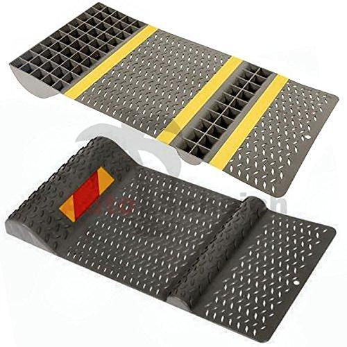 AutoScheich® Autostopper Parkhilfe für Garage Einparkhilfe Auto Einpark Parken Begrenzung Keil Klotz
