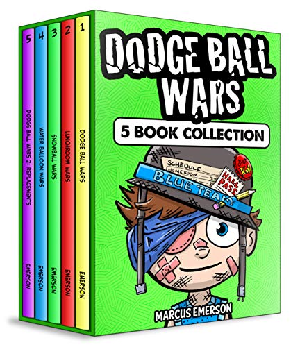 Dodge Ball Wars: 5 Book Box Set Collection (a hilarious adventure for children ages 9-12): From the Creator of Diary of a 6th Grade Ninja