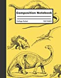 Apatosaurus Composition Notebook: Gigantic Apatosaurus Composition Notebook, for Boys Girls Adults and Students, Dinosaur Composition Book, 120 Pages: Lined Paper.