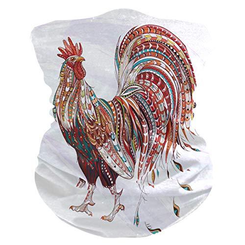 Magic Headwear Lifelike Rooster Cock Outdoor Scarf Headbands Bandana Mask Neck Gaiter Head Wrap Mask Sweatband