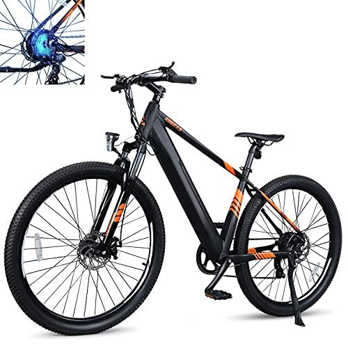 Elektrofahrrad Höchstgeschwindigkeit 25 km/h Fatbike Batteriekapazität 10Ah Elektrische MTB Mann Mechanische Scheibenbremsen Fahrerhöhen 165-198cm