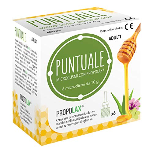 Nova Puntuale 6 Microclismi con Prolax Adulti - 60 ml