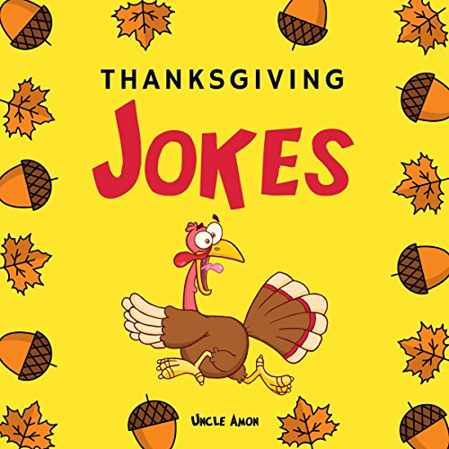 Thanksgiving Jokes: Funny Thanksgiving Jokes and Riddles for Kids audiobook cover art