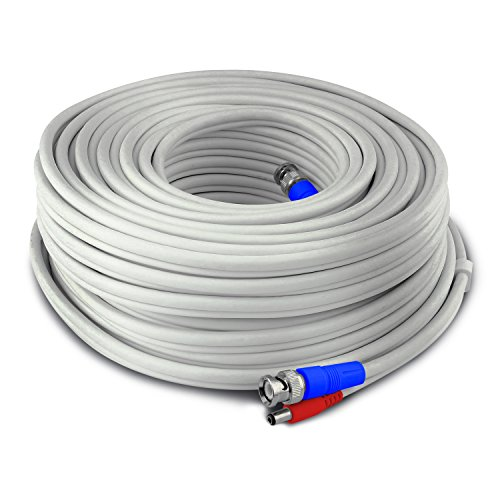 Swann 30m/100ft BNC 960H/AHD/TVI Extension Cable Surveillance Camera Cable, White (SWPRO-30MTVF-GL)