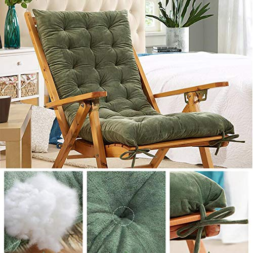 DL&VE Rocking Chair Cushions,Chair Pads & Back Cushion,Crystal Velvet Bench Cushion,Lounge Chair Cover Rocking Chair Cushion,Sofa Pads
