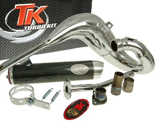 Marmitta TURBO KIT Bufanda Carreras 80 per Beta RR50 (02)