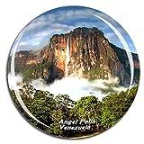 Weekino Caida Angel Venezuela Imán de Nevera 3D de Cristal de Turismo de la Ciudad de Viaje Recuerdo de la Colección de Regalo Fuerte Etiqueta Engomada del refrigerador