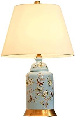 De style européen Salon Rétro pastorale lampe peint à la main
