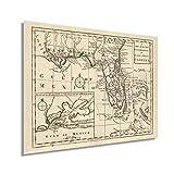 Historix Vintage 1763 East & West Florida Karte – 45,7 x