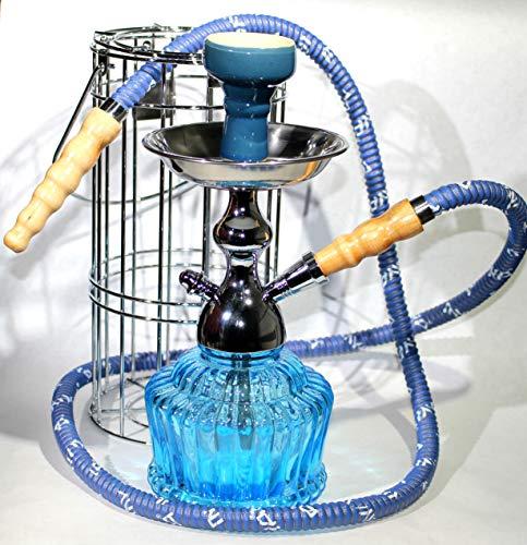 MYA Saray The QT 14' Single Hose Hookah (Sky Blue)