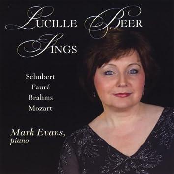 Lucille Beer Sings