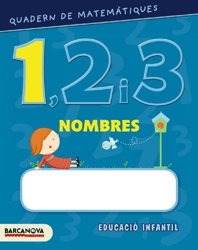 Quadern de matemàtiques 1, 2 i 3. Nombres 1 (Materials Educatius - Parvulari) - 9788448927547