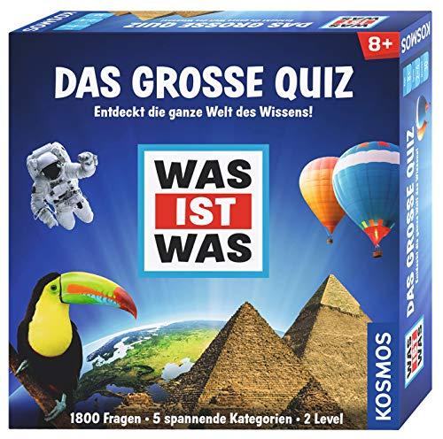 WAS IST WAS Das große Quiz: Für 2 - 4 Spieler ab 8 Jahren