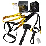 KZKR Adjustable <span class='highlight'>Suspension</span> tension belt Suspended training belt tensioner tension rope Yoga fitness equipment <span class='highlight'>Suspension</span> resistance band Abs (Yellow)