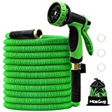 100FT Garden Hose Expandable, Water Collapsible Hose with 10 Function...