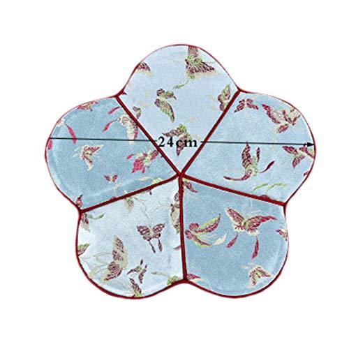 Goddness Bar Tapis de Plateau de thé en Tissu décoratif Coaster Retro Pad Tapis (Style 08)