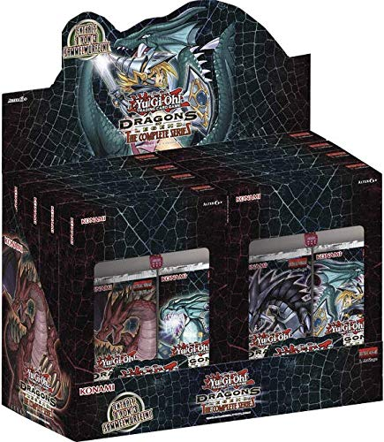 Konami - Dragons of Legend: The Complete Series - Display (8 Packs) - Yu-Gi-Oh! - Deutsch - mit GECO Spielmatte
