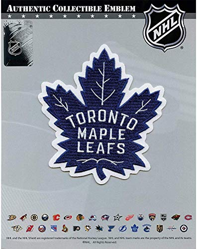 NHL Toronto Maple Leafs Logo Patch Official Game Jersey Embroidered Iron On