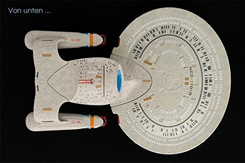 Star Trek Diecast Modell Starships Collection (USS Enterprise NCC-1701-D) - 2